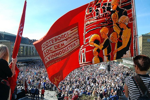 May 1, 2012 Goteborg. Photo: Socialdemokrater, cc by-nc-nd