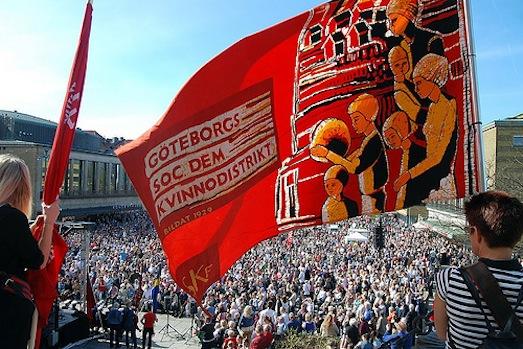 May 1, 2012 Goteborg. Photo: Socialdemokrater, cc by-nc-nd