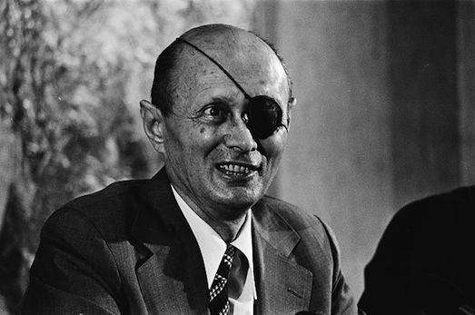 Moshe Dayan 1979