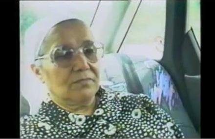 "Grandmother Sara, screen shot from Einat Kapach's film ""Be'inyan Neshama Ze Lo Balagan,"" which tells the story of Ziona."